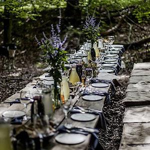 Anielskie Ogrody i leśny klub kolacyjny